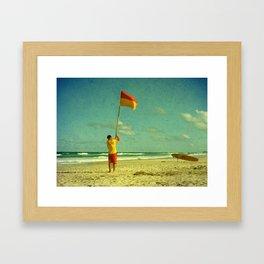 Declaration of Summer Framed Art Print