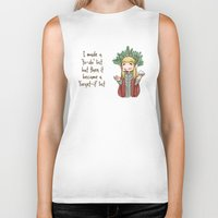 thranduil Biker Tanks featuring Thranduil To-Do List  by BlacksSideshow
