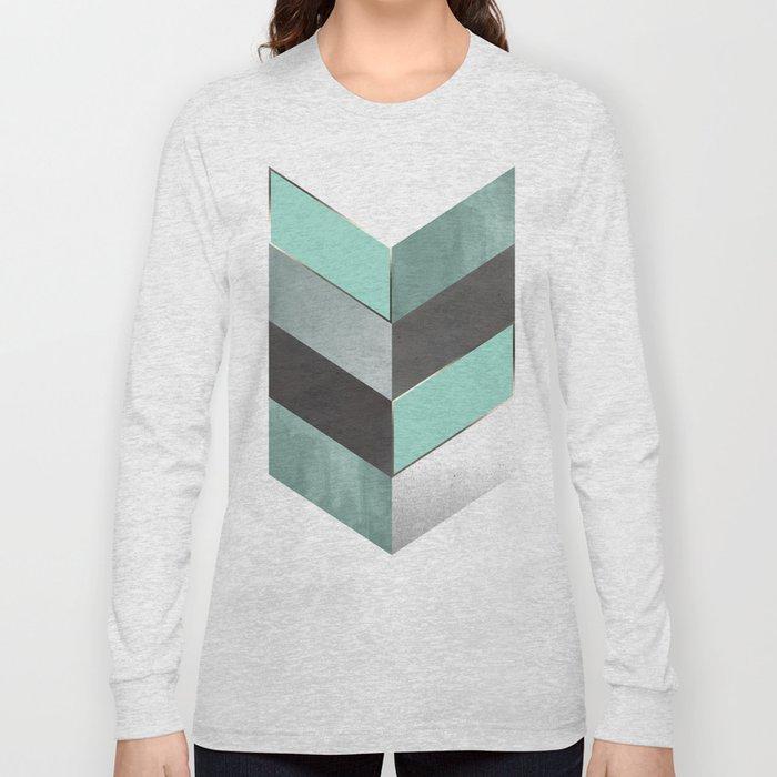 Chevron Geometric 1 Long Sleeve T-shirt