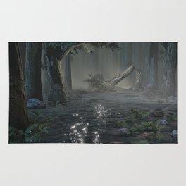 Somber Swampland Rug