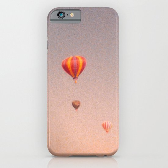 vintage hot air balloons in rio iPhone & iPod Case