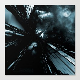 Daydreams Like Mainframes 006: Eclipse Canvas Print