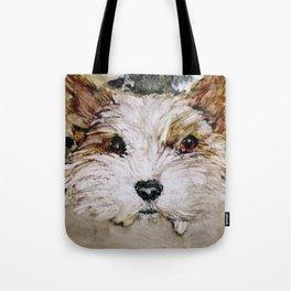 Parti Yorkie Love Tote Bag