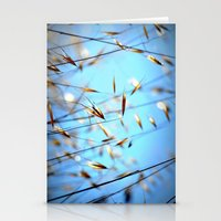 grass Stationery Cards featuring grass by  Agostino Lo Coco