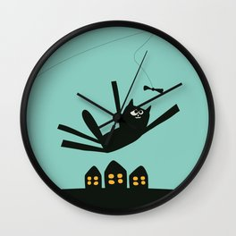 Oscar The Cat  Wall Clock