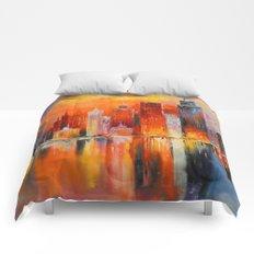 Evening new York Comforters