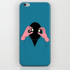 Staring is Scaring iPhone & iPod Skin