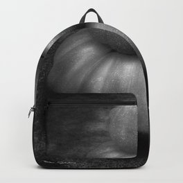 Nice Set Of Gourds - Black and White Backpack