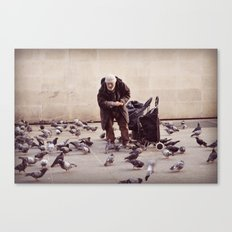 Human greatness Canvas Print