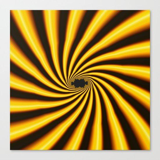 Twisted Sunshine Canvas Print