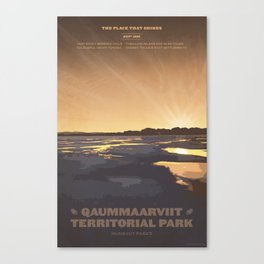 Qaummaarviit Territorial Park Canvas Print