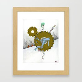 Diabetic Culture Framed Art Print