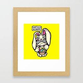Beaster Bunny Framed Art Print