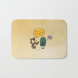 blathers and brewster Bath Mat