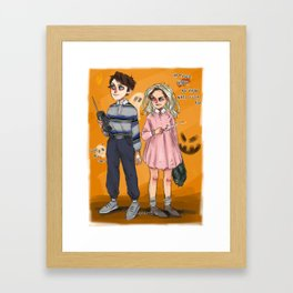 l&h as mike and 011 Framed Art Print