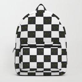 Secret Chicken Checks - BW Backpack