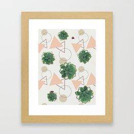 Lovely Succulents #redbubble #decor #buyart Framed Art Print