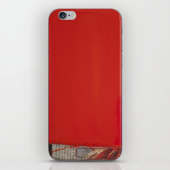 RED1 iPhone & iPod Skin
