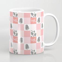 Sweet Bunny Sweet Pea Quilt Coffee Mug