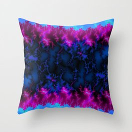 cold energy flash Throw Pillow