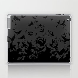 An Unkindness of Ravens (Grey) Laptop & iPad Skin