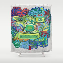 Je t'aime Shower Curtain