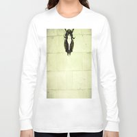 antler Long Sleeve T-shirts featuring Antler by Jerica
