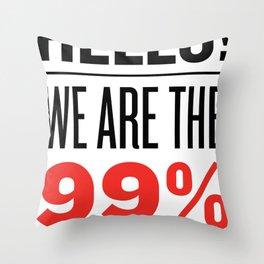 have we met? Throw Pillow