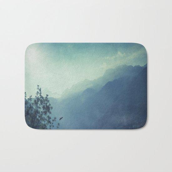 mountain blues Bath Mat