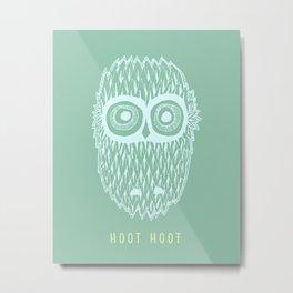 Hoot Hoot Metal Print