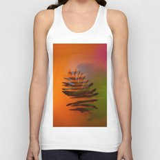 Tropical and Lush Unisex Tank Top