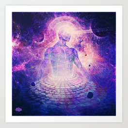 Architect of Aether Art Print