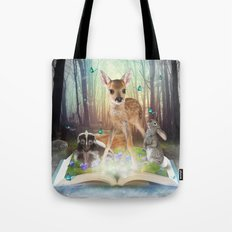 Believe In Magic • (Bambi Forest Friends Come to Life) Tote Bag