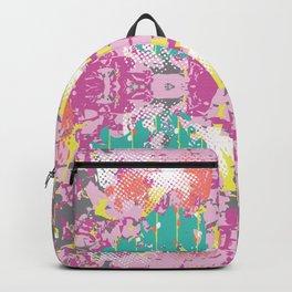 Crazy Hibiscus Backpack