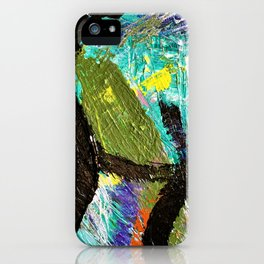 My Life Square Abstract iPhone Case
