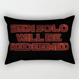 Ben Solo Will Be Redeemed Rectangular Pillow