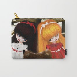 Snow White and Rose Red Carry-All Pouch