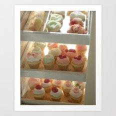 Cupcake Bakery  Art Print
