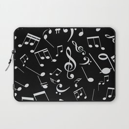 Musical Notes 20 Laptop Sleeve