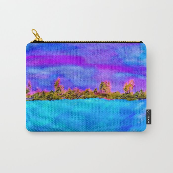 Surreal Abstract Landscape Carry-All Pouch