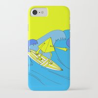 surfer iPhone & iPod Cases featuring Surfer by melanie johnsson