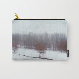 misty winterscape Carry-All Pouch