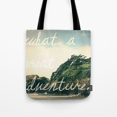 what a great adventure Tote Bag