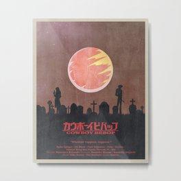 Cowboy Bebop - Dead Love Poster Metal Print