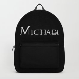 Archangel Michael with Feather Backpack