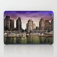 vancouver iPad Cases featuring Vancouver Storm by Anthony M. Davis