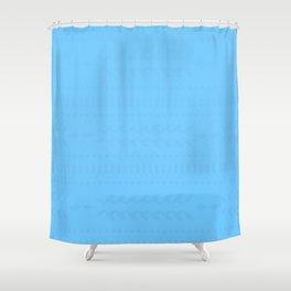 Maya Blue Shower Curtain