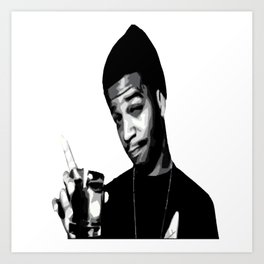 For The Love Of Mr.Rager Art Print