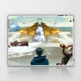 dreamer in Laguna Beach Laptop & iPad Skin