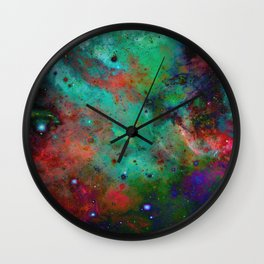 Everything is nothing 28 (therefore it was beautiful) Wall Clock